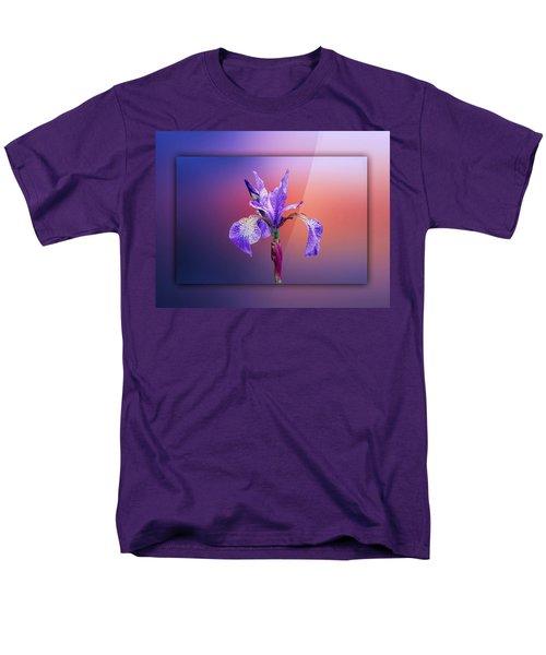 Iris Men's T-Shirt  (Regular Fit) by Lynn Bolt