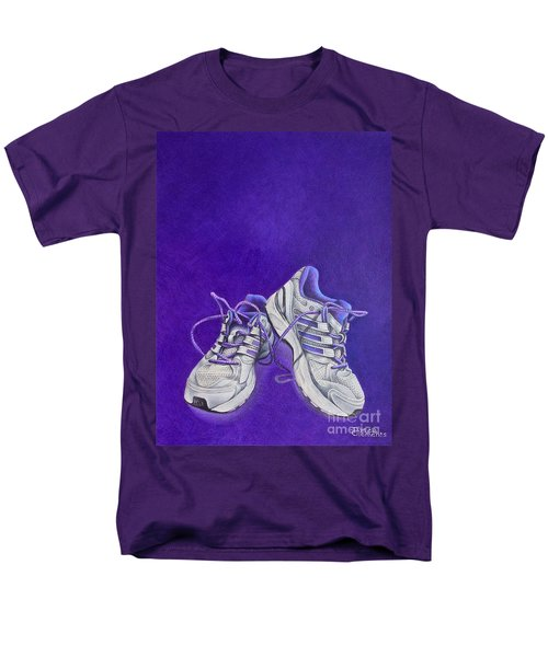 Men's T-Shirt  (Regular Fit) featuring the painting Karen's Shoes by Pamela Clements