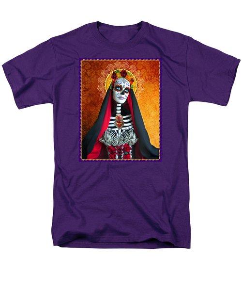 La Muerte Men's T-Shirt  (Regular Fit) by Tammy Wetzel