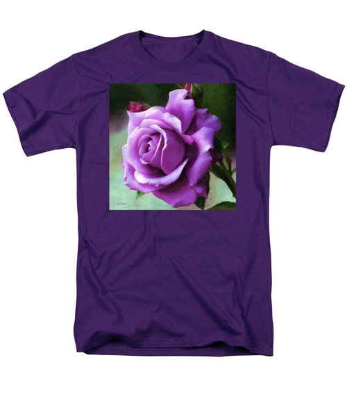 Lavender Lady Men's T-Shirt  (Regular Fit) by RC deWinter