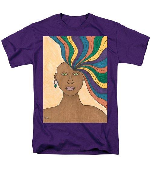 Losing My Mind Men's T-Shirt  (Regular Fit) by Susie Weber