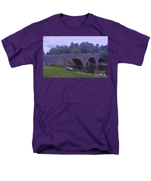 Men's T-Shirt  (Regular Fit) featuring the photograph Ludlow Castle by John Williams