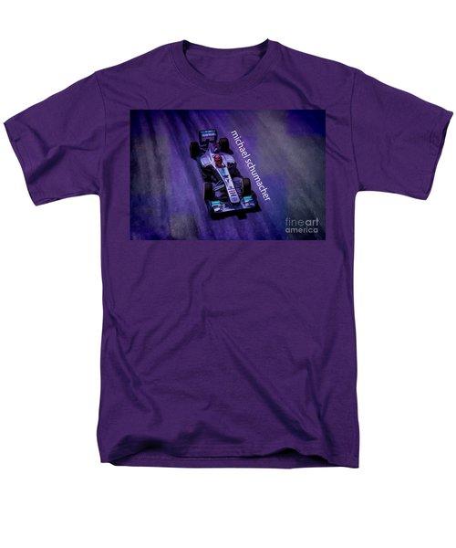 Michael Schumacher Men's T-Shirt  (Regular Fit) by Marvin Spates