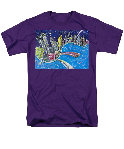 New York City Nights Men's T-Shirt  (Regular Fit)