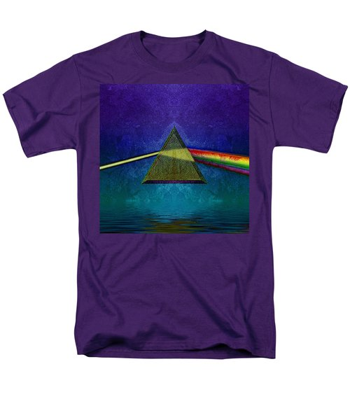 Men's T-Shirt  (Regular Fit) featuring the digital art Not So Dark Side 2 by WB Johnston