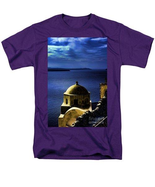 Oia Greece Men's T-Shirt  (Regular Fit)