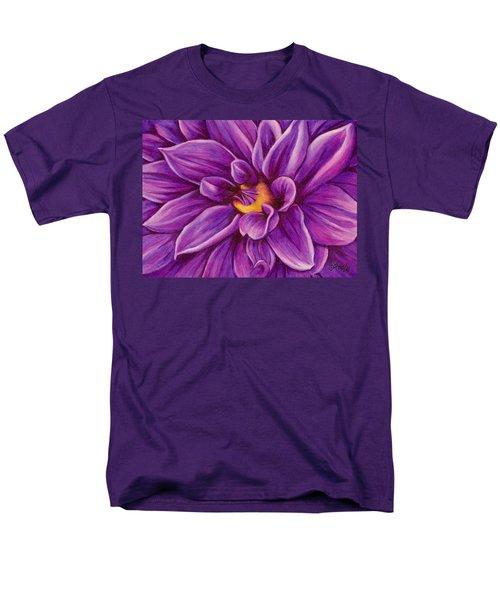 Pencil Dahlia Men's T-Shirt  (Regular Fit)