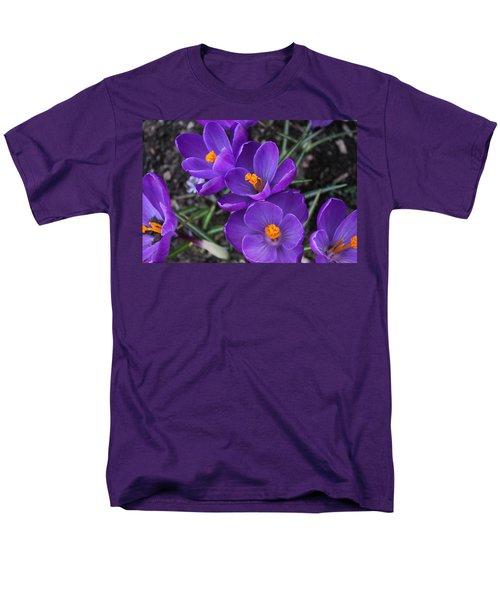 Purple Passion Men's T-Shirt  (Regular Fit) by Judy Palkimas