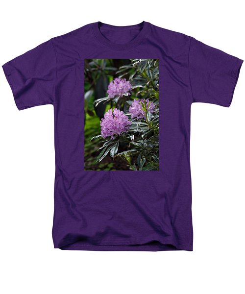 R. Ponticum Variegatum Men's T-Shirt  (Regular Fit) by Chris Anderson