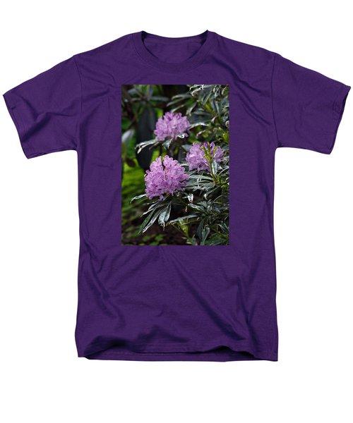 Men's T-Shirt  (Regular Fit) featuring the photograph R. Ponticum Variegatum by Chris Anderson