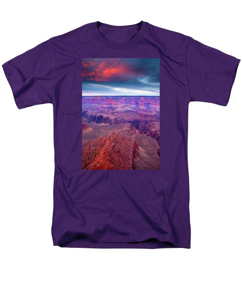 Red Rock Dusk Men's T-Shirt  (Regular Fit) by Mike  Dawson