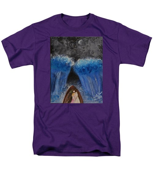 Men's T-Shirt  (Regular Fit) featuring the painting Rest In Him by Cassie Sears