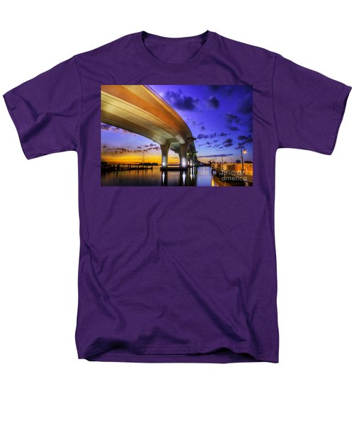 Ribbon In The Sky Men's T-Shirt  (Regular Fit) by Marvin Spates