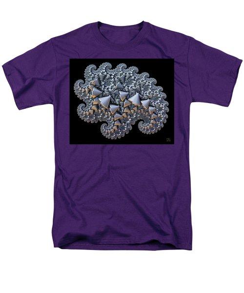 Men's T-Shirt  (Regular Fit) featuring the digital art Shell Amoeba by Manny Lorenzo