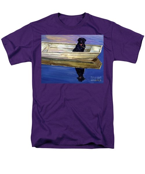 Slow Boat Men's T-Shirt  (Regular Fit) by Molly Poole