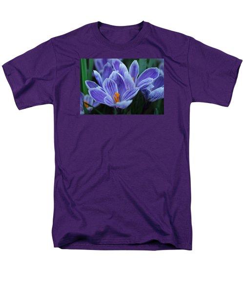 Spring Crocus Men's T-Shirt  (Regular Fit) by Julie Andel