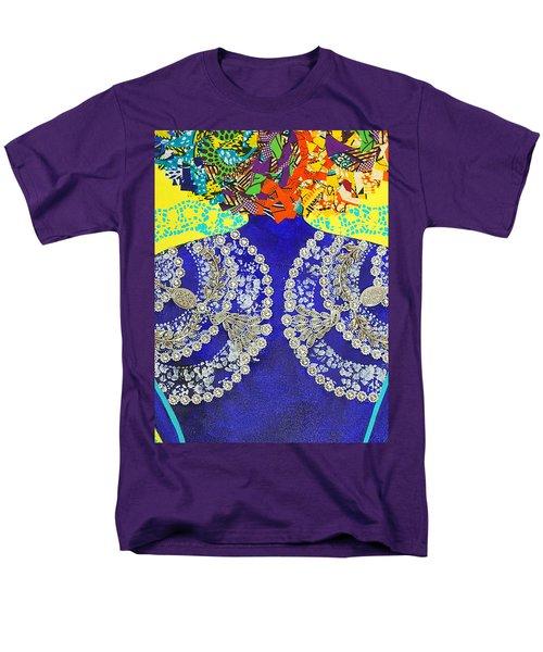 Temple Of The Goddess Eye Vol 3 Men's T-Shirt  (Regular Fit) by Apanaki Temitayo M