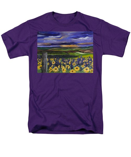 The Colors Of The Plateau Men's T-Shirt  (Regular Fit) by Jennifer Lake