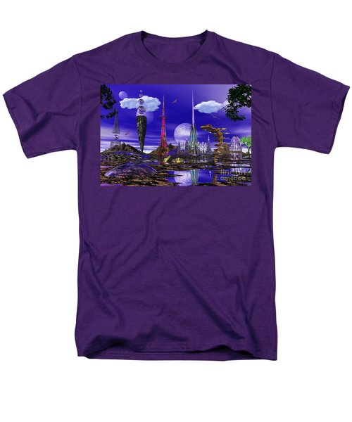 Men's T-Shirt  (Regular Fit) featuring the photograph The Palace Of Prax by Mark Blauhoefer