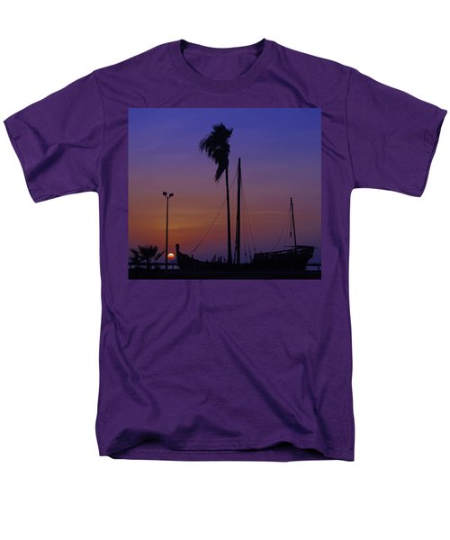 Men's T-Shirt  (Regular Fit) featuring the photograph The Ship by Leticia Latocki