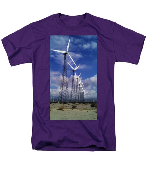 Windmills Men's T-Shirt  (Regular Fit)