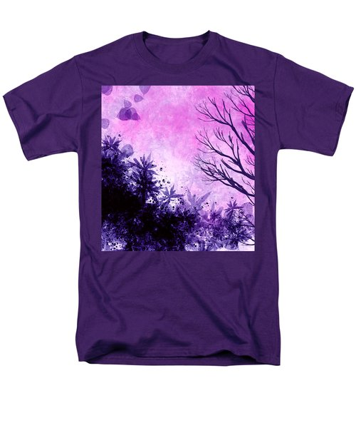 Men's T-Shirt  (Regular Fit) featuring the painting Winter Dreams  by Persephone Artworks