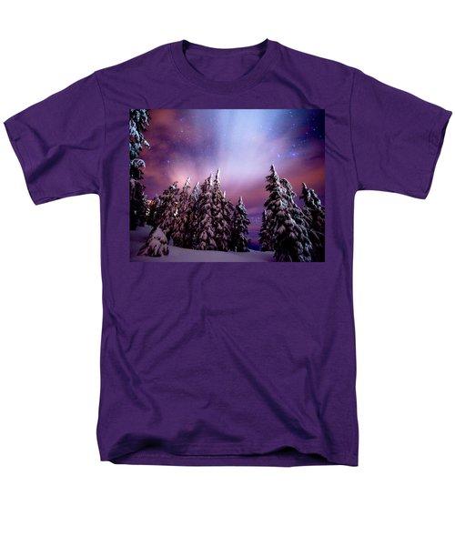 Winter Nights Men's T-Shirt  (Regular Fit) by Darren  White