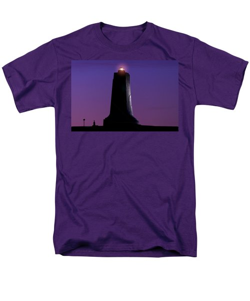 Men's T-Shirt  (Regular Fit) featuring the photograph Wright Brothers Memorial by Greg Reed