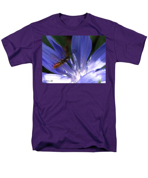 Men's T-Shirt  (Regular Fit) featuring the photograph A Quiet Moment On The Chicory by J McCombie