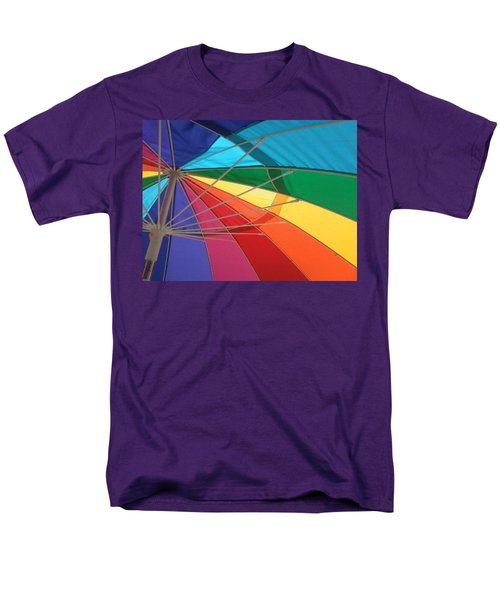 Men's T-Shirt  (Regular Fit) featuring the photograph It's A Rainbow by David Pantuso