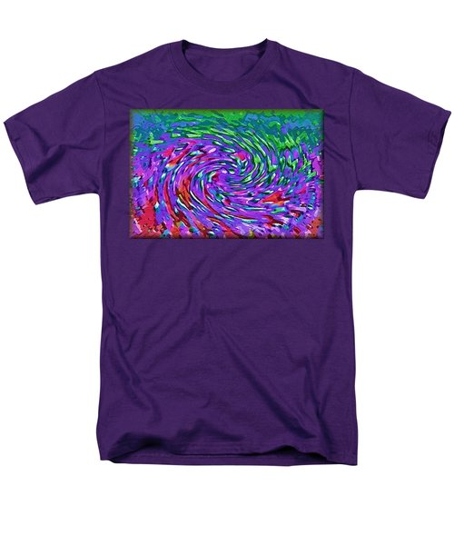 Men's T-Shirt  (Regular Fit) featuring the digital art Waterspout by Alec Drake