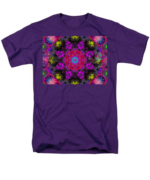 Men's T-Shirt  (Regular Fit) featuring the digital art April Rain by Robert Orinski