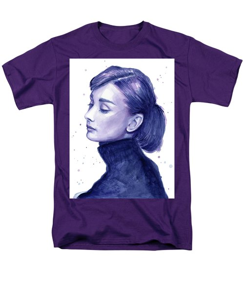 Audrey Hepburn Portrait Men's T-Shirt  (Regular Fit)