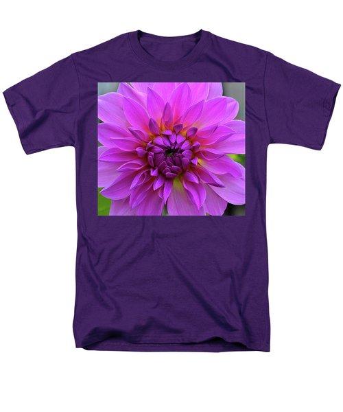 Dahlia Men's T-Shirt  (Regular Fit) by Ronda Ryan