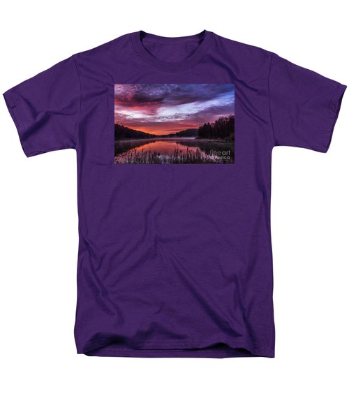 First Light On The Lake Men's T-Shirt  (Regular Fit) by Thomas R Fletcher