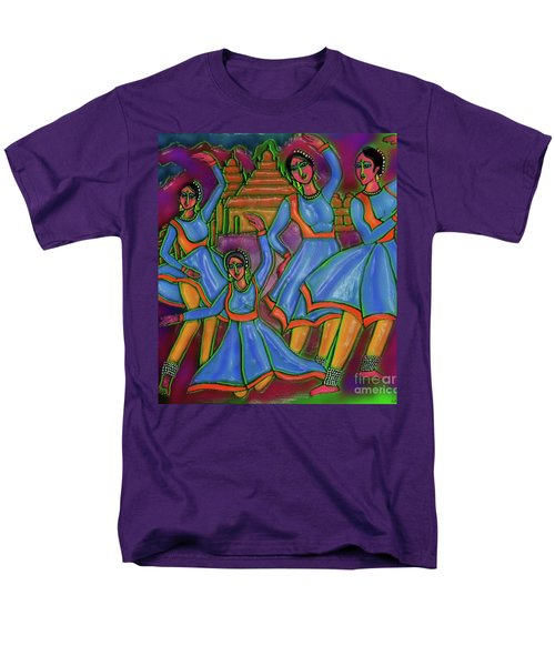 Men's T-Shirt  (Regular Fit) featuring the digital art Monsoon Ragas by Latha Gokuldas Panicker