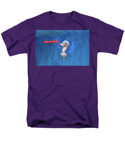 Out Of The Blue Men's T-Shirt  (Regular Fit)