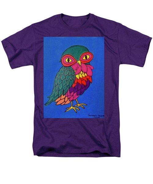 Owl Men's T-Shirt  (Regular Fit)