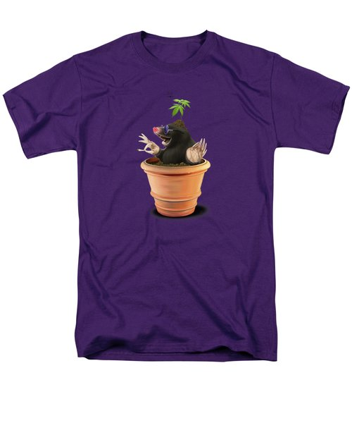 Men's T-Shirt  (Regular Fit) featuring the drawing Pot by Rob Snow
