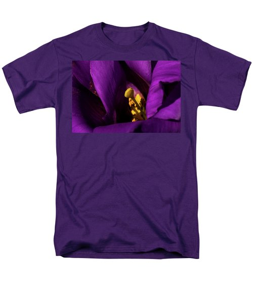 Men's T-Shirt  (Regular Fit) featuring the photograph Purple And Yellow by Jay Stockhaus