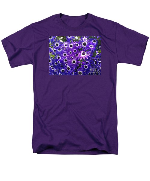 Men's T-Shirt  (Regular Fit) featuring the photograph Purple Bunch by Haleh Mahbod
