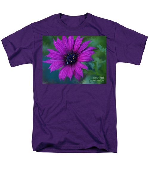 Men's T-Shirt  (Regular Fit) featuring the photograph Purple by Trena Mara