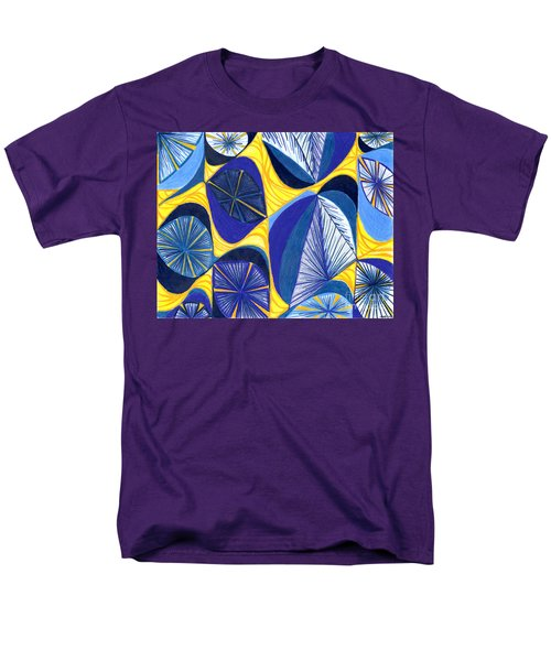 Men's T-Shirt  (Regular Fit) featuring the drawing Solar Rays by Kim Sy Ok
