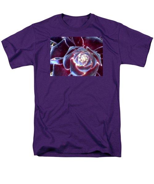 Velvet Rosette Men's T-Shirt  (Regular Fit) by Vivien Rhyan