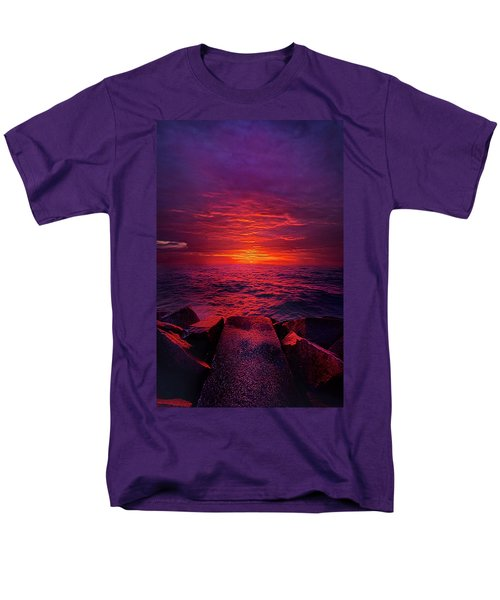 Men's T-Shirt  (Regular Fit) featuring the photograph The Path by Phil Koch