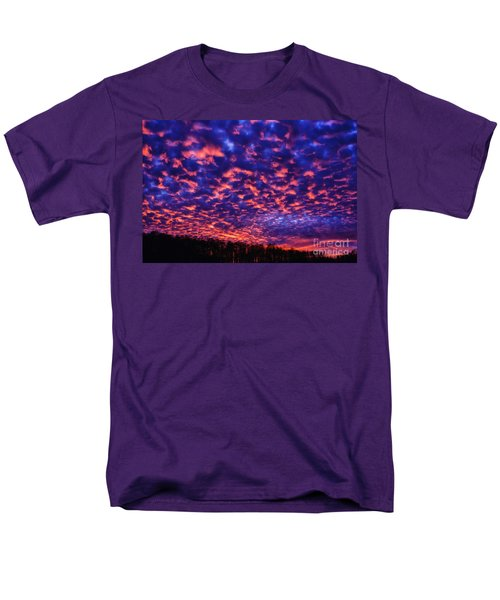 Men's T-Shirt  (Regular Fit) featuring the photograph Appalachian Sunset Afterglow by Thomas R Fletcher