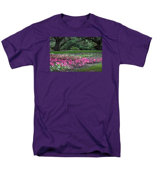 A Place Of Refuge Men's T-Shirt  (Regular Fit) by Suzanne Gaff