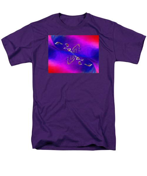 Men's T-Shirt  (Regular Fit) featuring the digital art Abstract Cubed 350 by Tim Allen