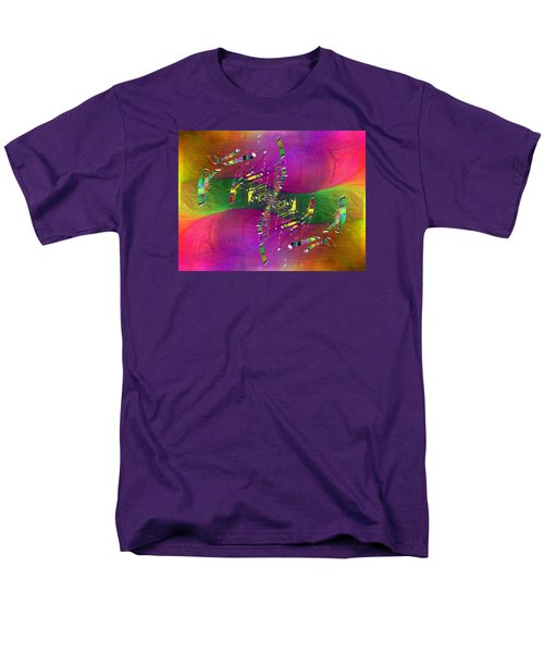 Men's T-Shirt  (Regular Fit) featuring the digital art Abstract Cubed 357 by Tim Allen