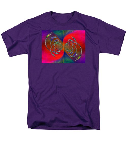 Men's T-Shirt  (Regular Fit) featuring the digital art Abstract Cubed 366 by Tim Allen